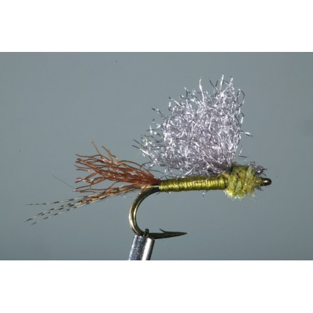 Rivergod Emerger - Slate Wing Olive