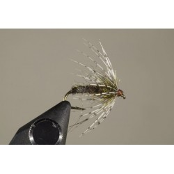 Tungsten Bead Soft Hackle Dark