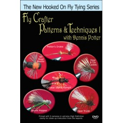 Fly Crafter Patterns & Techniques - 1 with Dennis Potter